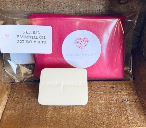 Therapeutic Essential Oil blended soy melts - 4 pack